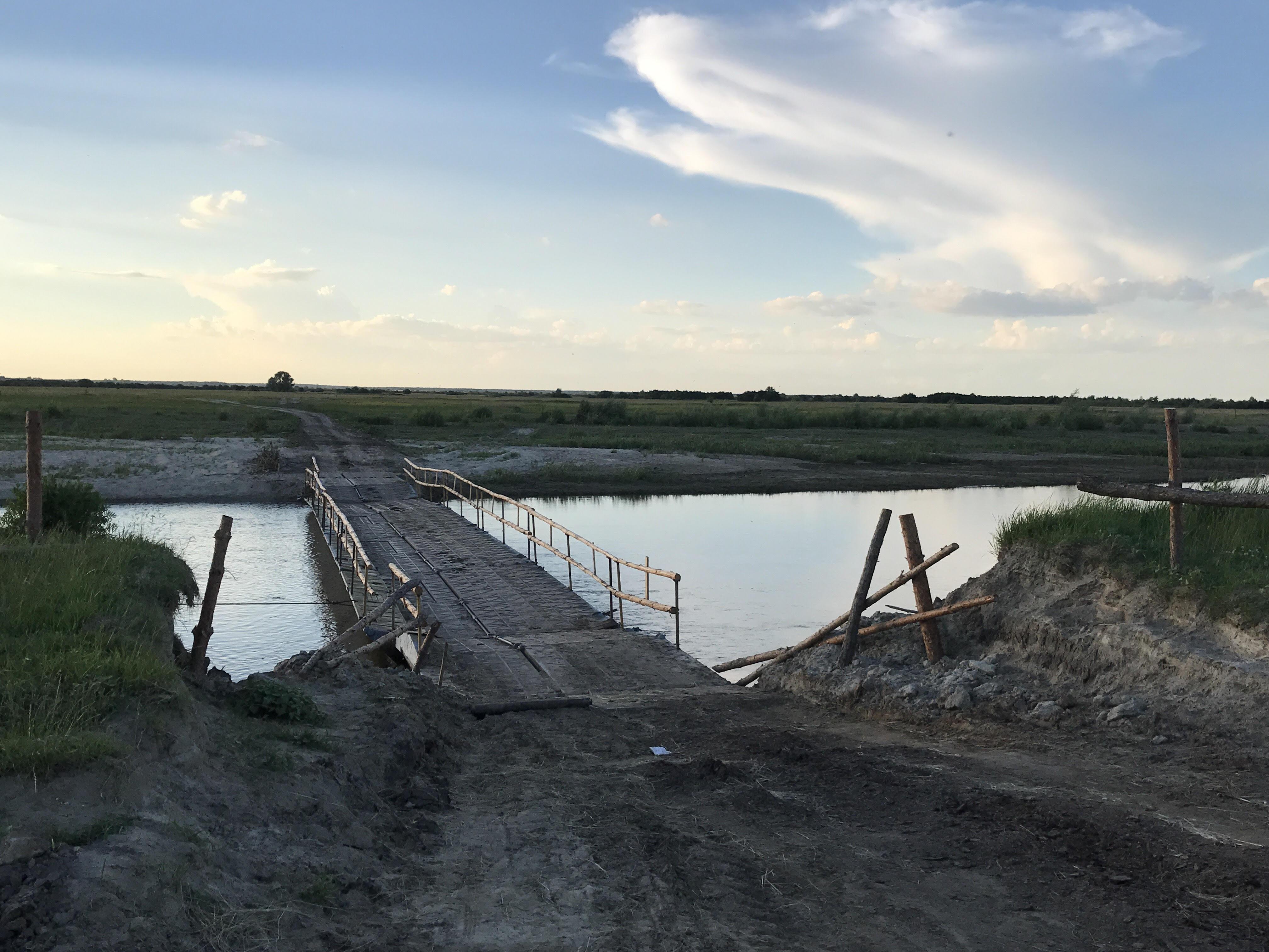 из-городище-в-удрицк-через-мост